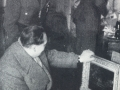 Hermann Goering, Hitler's deputy perusing looted art in Paris's Jeu de Paume. Goering collected looted art.